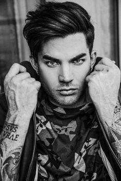 Attitude  Adam Lambert photo shoot Photo credit: @austinhargrave