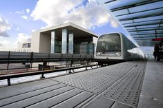 Perron-elementer i beton, Metro-station, Ørestaden
