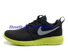 147c2264646a Mens Nike Roshe Run Anthracite Wolf Grey Cyber Shoes Nike Free Run 3 -