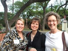 Patio reception at Aldo's for all of our previous Grant Recipients and ISA members