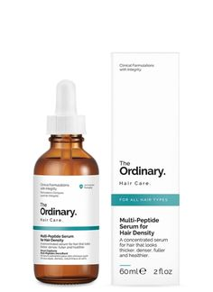 The Ordinary Multi-Peptide Serum for Hair Density - Natureal. Hair Density, The Ordinary, Serum, Shampoo, Personal Care, Beauty, Self Care, Cosmetology