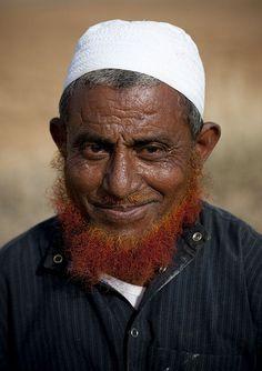 Red beard man - Saudi Arabia, via Flickr.