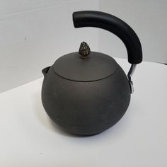 c8e1deaf85b Calphalon Anodized Aluminum Tea Kettle W  Morel Mushroom Lid Made In  Ireland  Calphalon