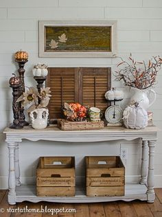 Fall Decor Ideas from Start at Home