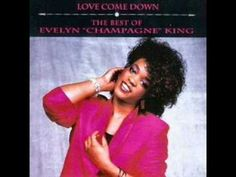 """Evelyn Champagne King """"Love Come Down"""" (12-inch version, 1982)"""