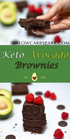 Healthy Chocolate Avocado Brownies Recipe Keto & Paleo - Keto Brownies - Ideas of Keto Brownies - Healthy Avocado Brownies are super fudgy a chocolate heaven full of healthy fats. Enjoy a low carb keto sugar-free and grain-free dessert. Avocado Dessert, Paleo Dessert, Healthy Dessert Recipes, Gourmet Recipes, Low Carb Recipes, Appetizer Dessert, Dessert Food, Fish Recipes, Cooking Recipes