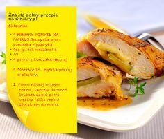 brakujący składnik: 1 ogórek konserwowy  http://www.winiary.pl/przepis.aspx/76183/piers-kurczaka-z-mozzarella#axzz2CCzXYvjS