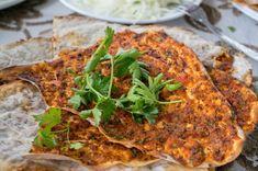 Pita Bread, Bread Food, Bon Appetit, Quiche, Turkey, Meat, Chicken, Breakfast, Ethnic Recipes
