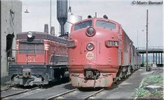 Chicago Great Western locomotives. The CGW would become part of the Chicago Northwestern railroad.