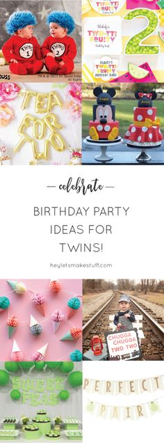 Twin Birthday Party