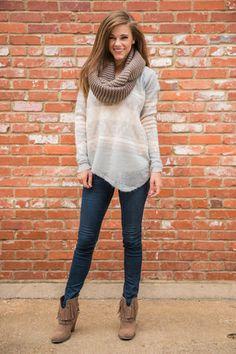 Desert Diva Sweater, Gray