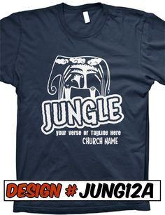 FREE SHIPPING on all Jungle Safari VBS T-Shirt Designs