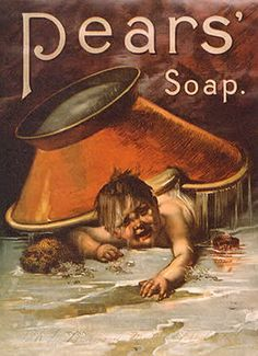 This really makes me want to buy some Pears' soap. #vintage #ad