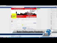 Buton Dislike pentru Facebook
