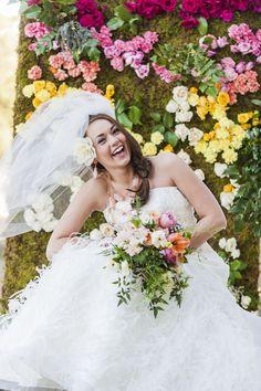 Fabulous Floral Wall Wedding Backdrop Idea   Camp Makery. Wedding ideas, Wedding flowers, flowers, Brides, Bride ideas, Wedding inspiration, floral inspiration