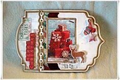 Scrappiness: Julekort med Studiolight Studio Lighting, Ark, Christ, Merry, Frame, Stamps, Home Decor, Picture Frame, Seals