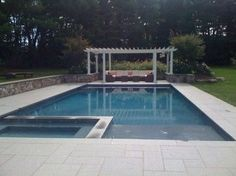 New Concrete Swimming Pools - traditional - swimming pools and spas - new york - Rick Pinto Swimming Pools, Inc