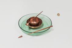single zerunianandweisz. copper handmade 7000blows @Stefan Zeisler Panna Cotta, Copper, Ethnic Recipes, Handmade, Food, Dulce De Leche, Hand Made, Essen, Brass