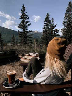 Sipping a morning coffee with a view of the mountains. Camping Aesthetic, Travel Aesthetic, Adventure Awaits, Adventure Travel, Theme Halloween, Jolie Photo, Plein Air, Outdoor Life, Van Life
