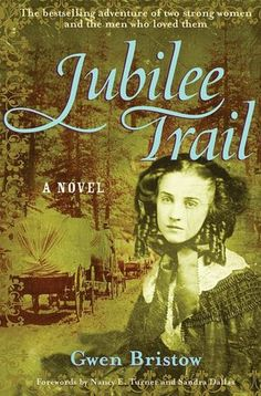 JUBILEE TRAIL by Gwen Bristow. I read this as a young girl and then a few more times since. My Mom bought and read lots of books and lost them all in a fire of their home. I wish I still had a copy of this one but it's in most libraries. I Love Books, Great Books, Books To Read, Historical Fiction Books, Historical Romance, Reading Lists, Book Lists, Reading Room, California History