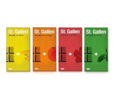 Chocolate St. Gallen (Student Work) | Packaging of the World: Creative Package Design Archive and Gallery