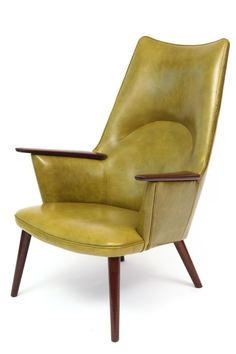 Hans Wegner, Armchair for A. P. Stolen, 1950′s,