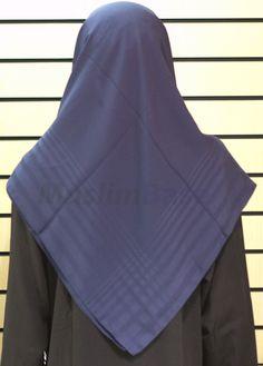 Square Hijab Navy Stripes http://www.muslimbase.com/clothing/hijabs/square-hijab/square-hijab-navy-stripes-p-7317.html