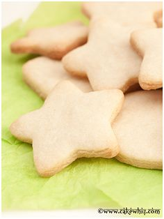 Small batch of SUGAR COOKIE recipe that yields only a few cookies. They taste great, hold their shape and require no chilling! From cakewhiz.com