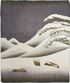 Snow, 1973, David Hockney