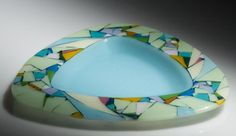 Carla Sarvis, Fused Glass Plate