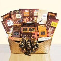 Godiva Decadence Ultimate Gift Basket