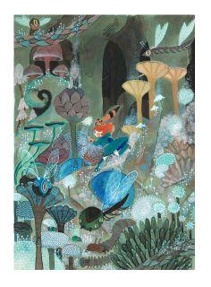 Tribute to Nausicaa by Ssoja - Amélie Fléchais