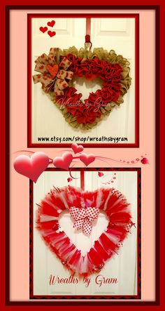 Valentines Ideas; Valentines Decor; Wreaths for Front Door; Valentines Day; Heart Wreath; Wreaths; Valentine's Day Decorations; Valentine's Day Party; Valentine's Day ideas; Valentine wreaths for front door; Valentines Day Gift Ideas; Valentines Day Gifts; Burlap Wreath; Burlap Heart Wreath #valentinesday #valentinesdaygifts #valentinesdaydecor #heartwreath #valentinesdaydecorations #wreaths #valentine #homedecor  #farmhouse #valentinedecor #valentinesdayhomedecor…