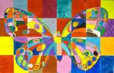 From the Sketchbook of Bridget Smith: Butterfly mural