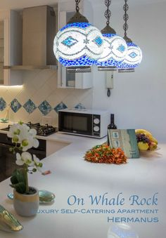 Hermanus Accommodation: On Whales Rock is a holiday self-catering apartment
