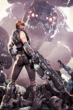 Can't wait to see her in Gears Judgment