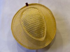 Sombrero Mascota unisex  de algodón  amarillo de Puesto14sombreros en Etsy