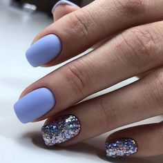 On average, the finger nails grow from 3 to millimeters per month. If it is difficult to change their growth rate, however, it is possible to cheat on their appearance and length through false nails. Butterfly Nail Designs, Colorful Nail Designs, Nail Art Designs, Colorful Nails, Nails Design, Love Nails, How To Do Nails, Fun Nails, Cute Shellac Nails