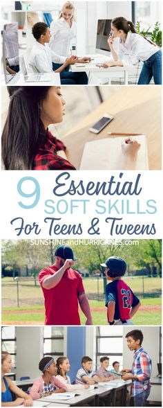 Preparing our teens and tweens to be independent adults is more than teaching them to do the laundry or cook a meal. These are 9 Essential Soft Skills for Teens and Tweens that will be the key to their grown-up success. Parenting Style Quiz, Parenting Articles, Parenting Classes, Parenting Styles, Parenting Books, Parenting 101, Natural Parenting, Foster Parenting, Raising Teenagers