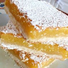 Best Lemon Squares Allrecipes.com  #MyAllrecipes #AllrecipesAllstars #AllrecipesFaceless