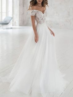 Lace Wedding Dress With Sleeves, Prom Dresses With Sleeves, Perfect Wedding Dress, Bohemian Wedding Dresses, White Wedding Dresses, Backless Wedding, A Line Bridal Gowns, Lace Mermaid, Mermaid Wedding