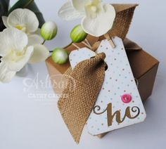 Using a Negative | CCC Tags Challenge by Cathy Caines  @Stampin' Up!