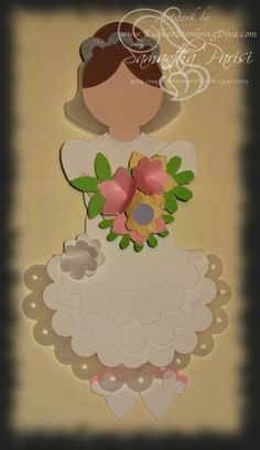Punch Art Bride by Stamp_Mom - Cards and Paper Crafts at Splitcoaststampers