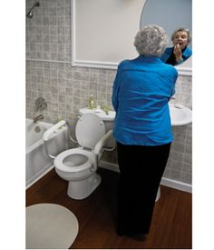 Adjustable Toilet Safety Rail $81.00 FREE Shipping from uCan Health || IAdjustable Toilet Safety Rail, Bathroom Safety and Commodes,Raised Toilet Seats & Safety Rails