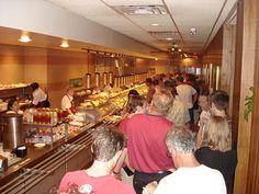 morrison's cafeteria food line