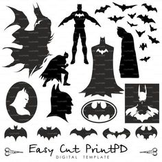 batman & robin free svg files - Google Search