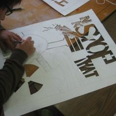 Activism Through Stencils