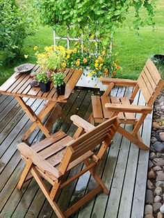 back deck decorating ideas - Google Search