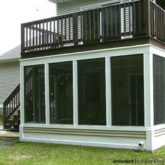Want To Really Put That Under Deck E Work Double Or Triple The Size Of Your Project With A Multi Level Open Screened Porch