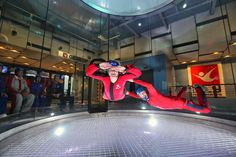 Would love to take the kids! How cool.  Chicago families can fly like birds at iFly Indoor Skydiving | ChicagoParent.com